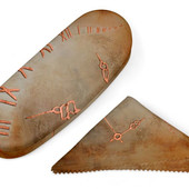 C.Fischer Stilvolle Designer Tasche mit Satindruck 'Zeitgeist'