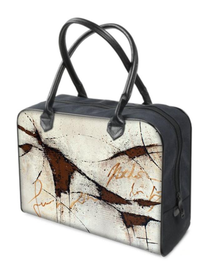 C.Fischer Exzellente Designer Reisetasche 'Botschaft'