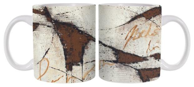 C.Fischer Luxuriöse und trendige Designer Kaffeetasse 'Botschaft'