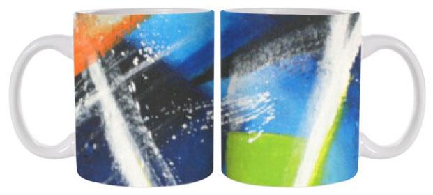 C.Fischer Geniale  und stylische Designer Kaffeetasse 'Innere Kraft'