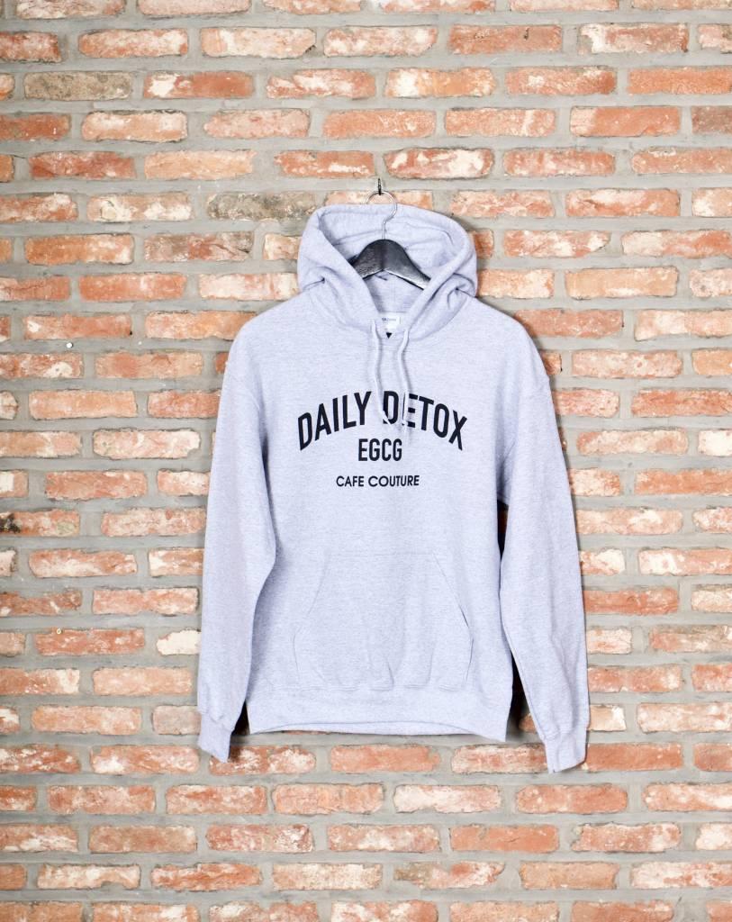 Daily Detox hoodie sleeve