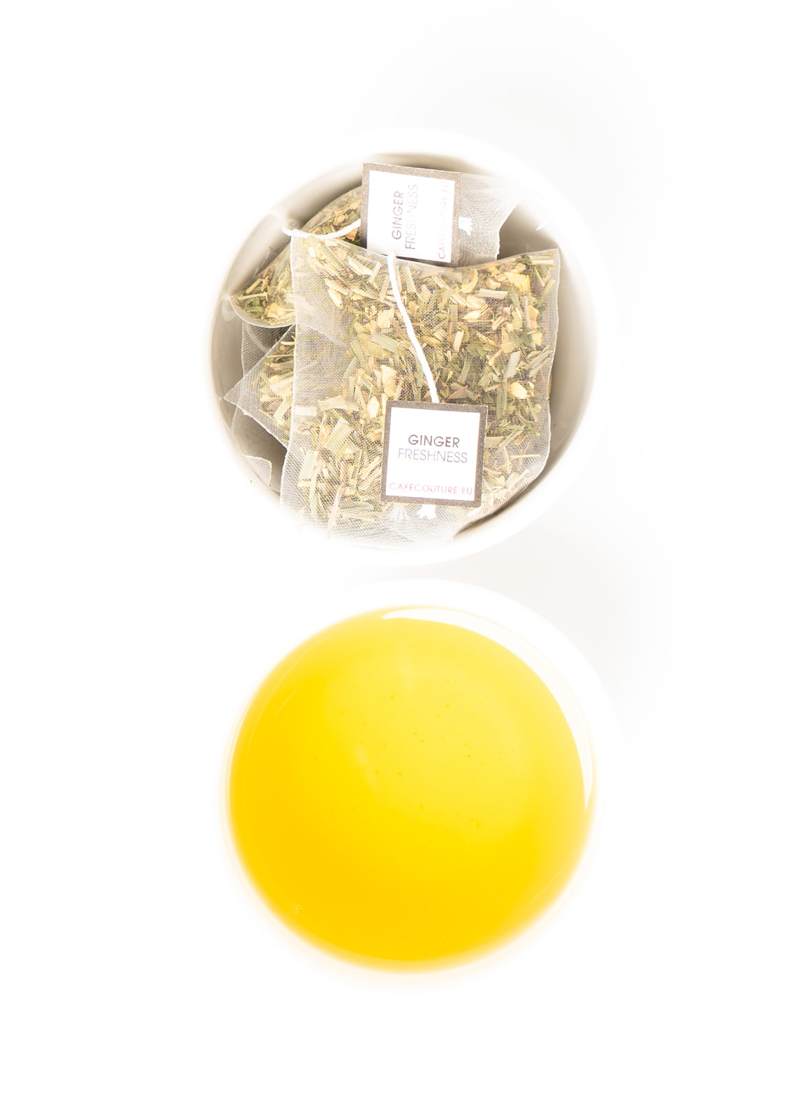 HERBAL - GINGER FRESHNESS -  BIODEGRADABLE COLLECTION
