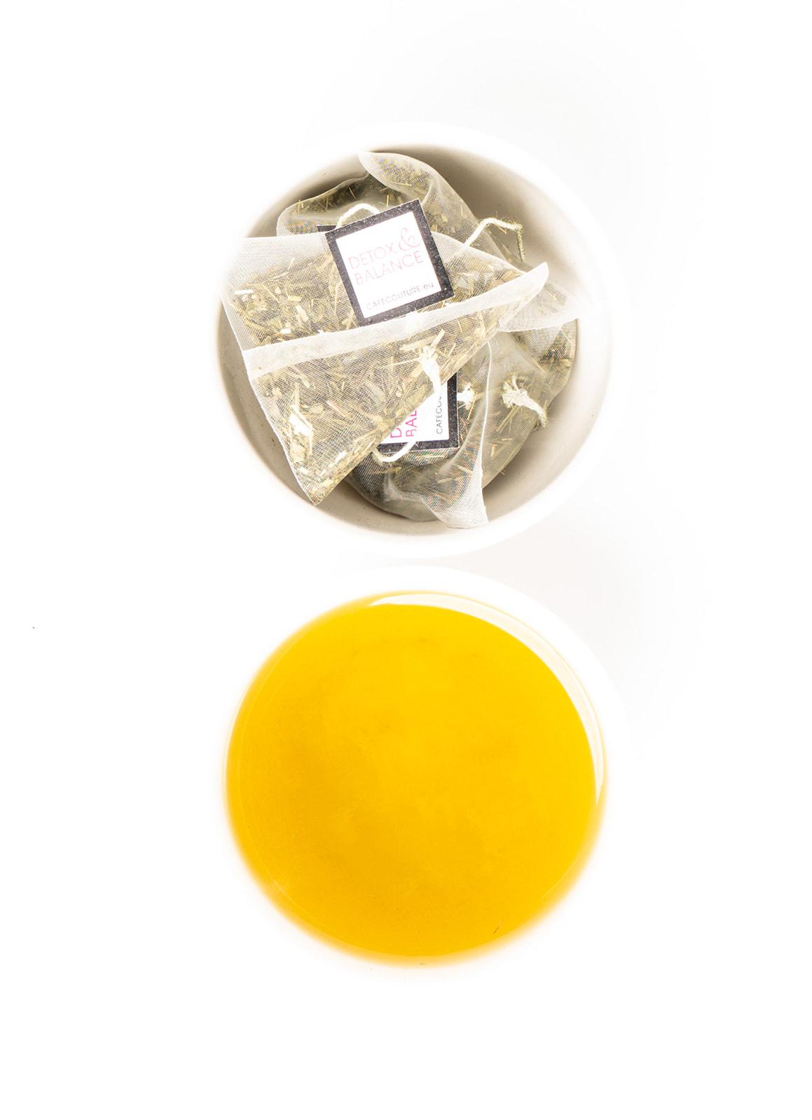 SLIMMING DETOX - GREEN TEA, MATE & SPIRULINA