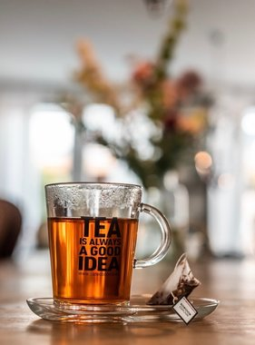 Glas TEA IS ALWAYS A GOOD IDEA! set