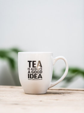 'Tea is always a good idea!' mok