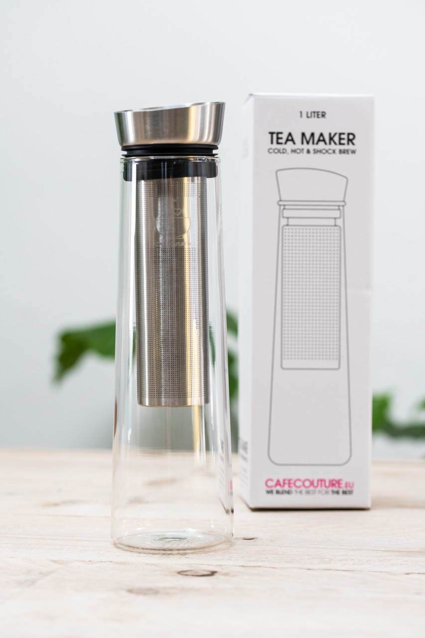 Tea maker voor cold-, hot- en shock brew (1 liter)