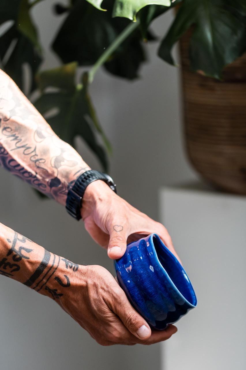 Matcha bowl - blauw