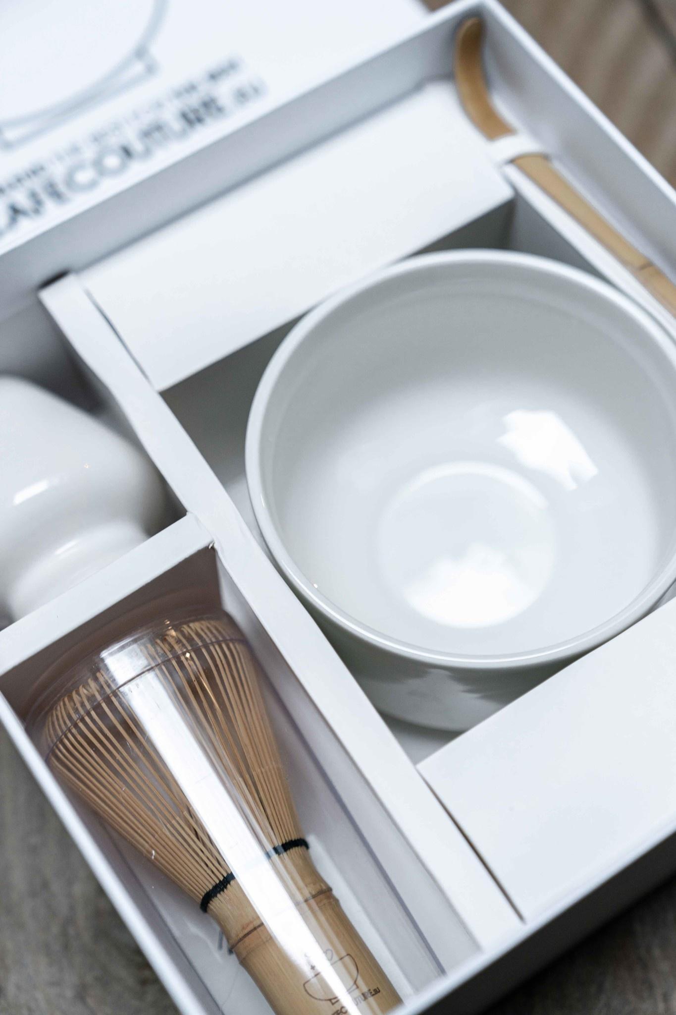 Premium Matcha complete box I (4 delig) - clean wit