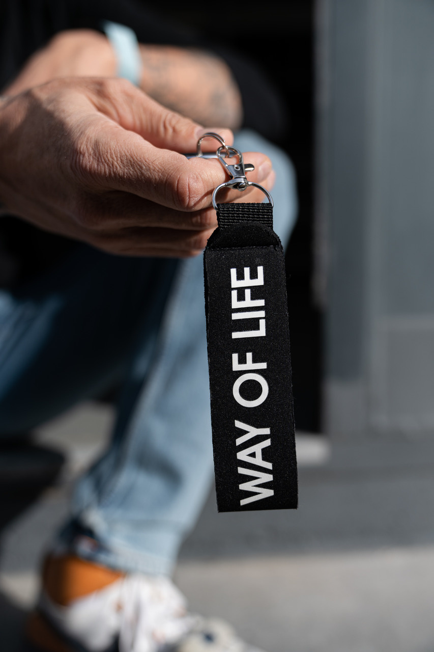 WAY OF LIFE keychain
