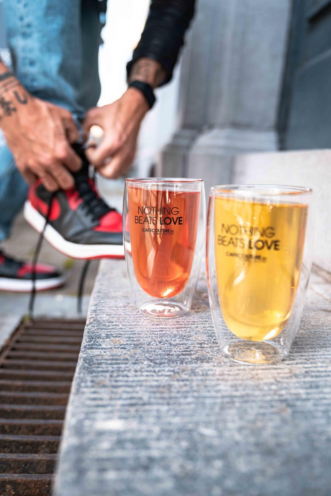 Nothing Beats Love dubbelwandig glas