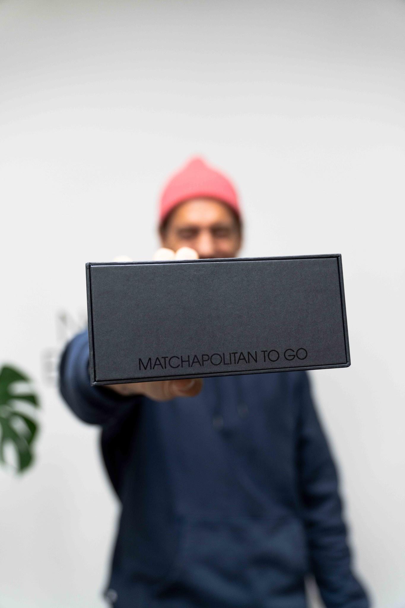 Matchapolitan to go (box)