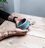Matcha bowl - lichtblauw