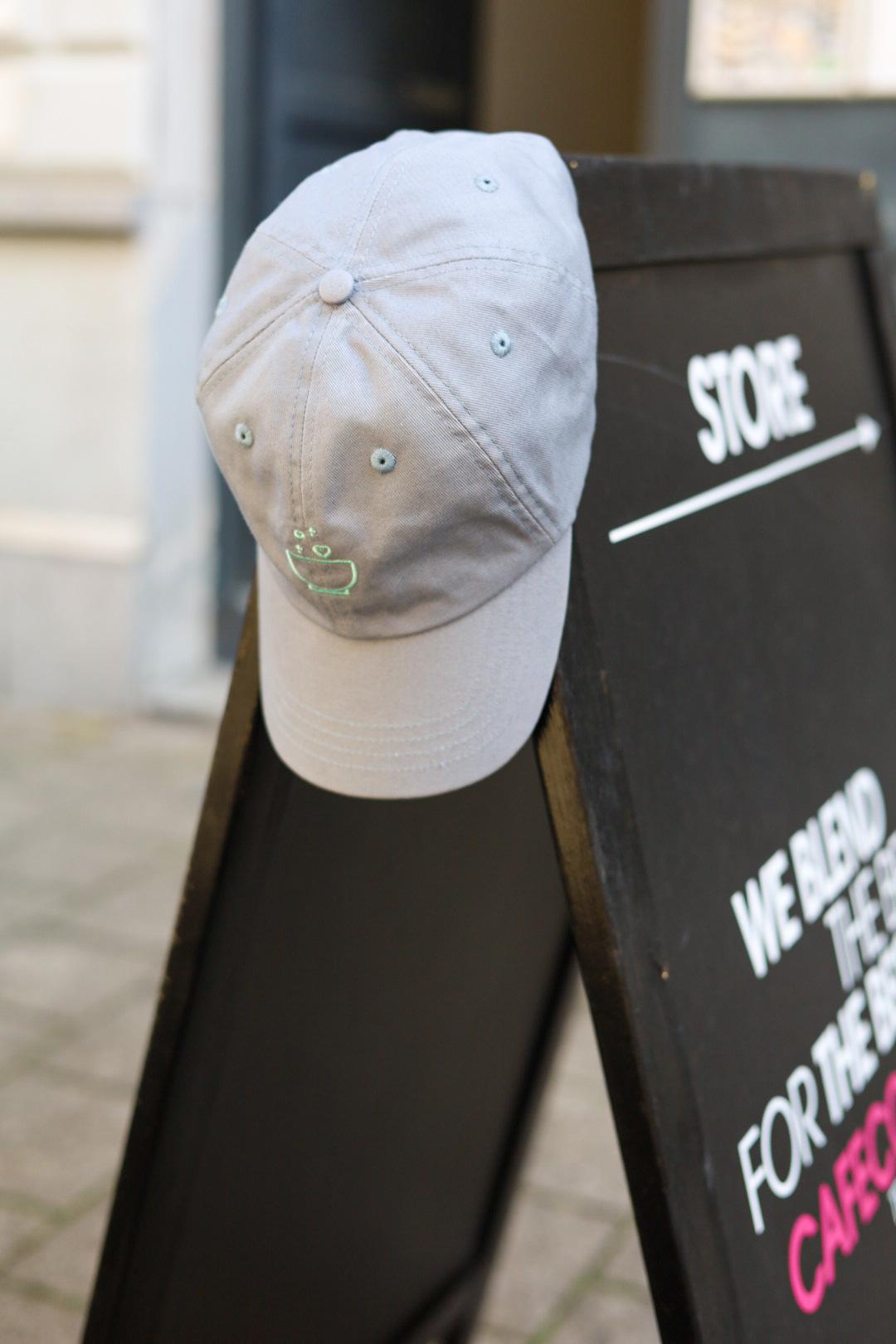 Cafe Couture logo cap (grijs)