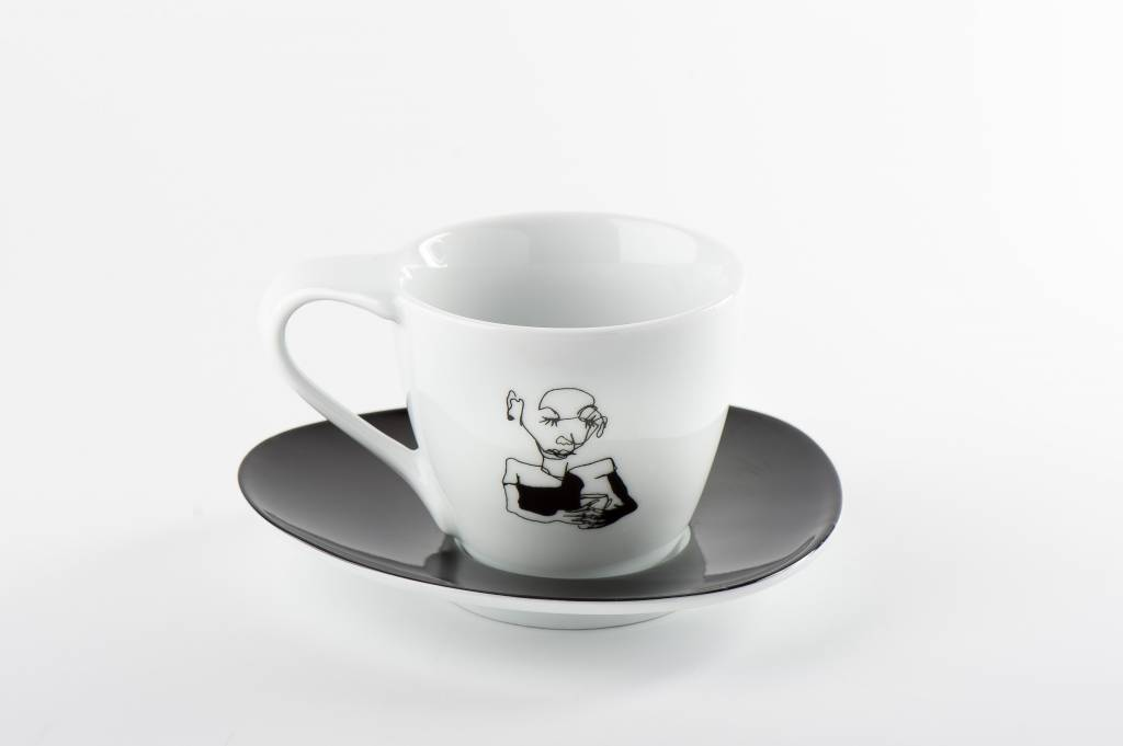LIMITED ART STUDENT WINNER Coffee Cup 'Sarah-Kay Blewitt