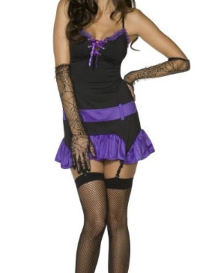 Sexy Heksen Kostuum (3 delig)