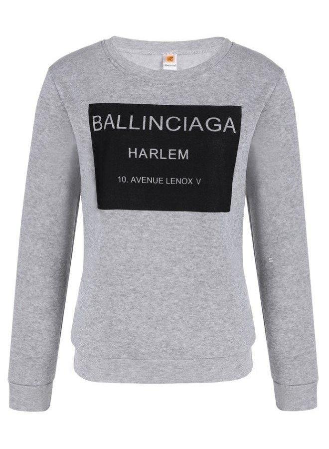 Ballinciaga Sweater Grijjs