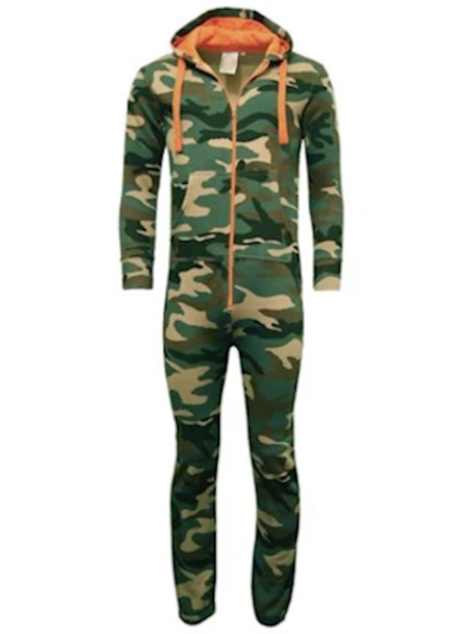 Onesie Camouflage Legerprint - Uniseks