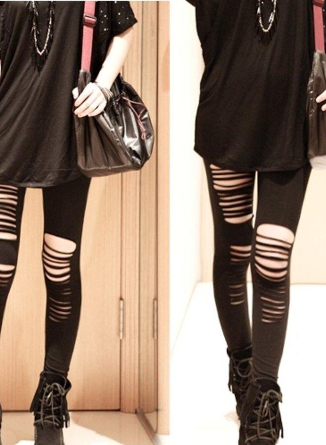 Legging Met Gaten