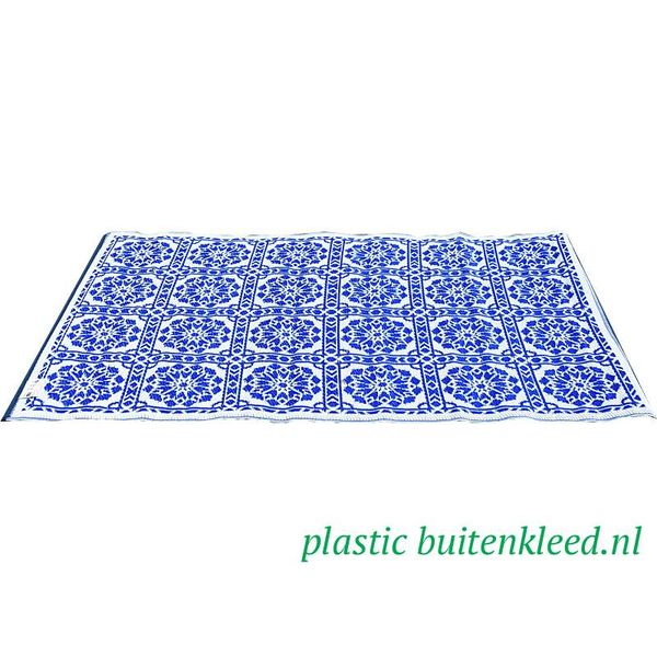 Wonder Rugs Delfs blauw tegeltje vloerkleed