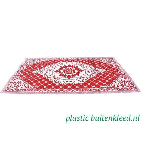 Wonder Rugs Buitenvloerkleed rood wit