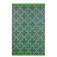 Wonder Rugs Paars groen orientaals buitenkleed
