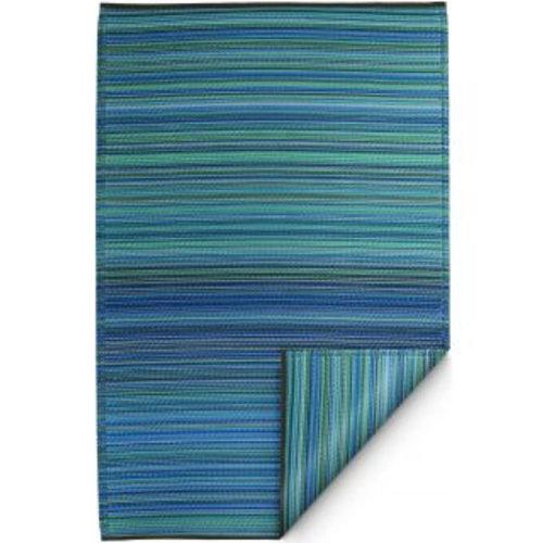 Blauw turquoise buitenkleed