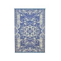 Wonder Rugs Buitentapijt blauw oosters