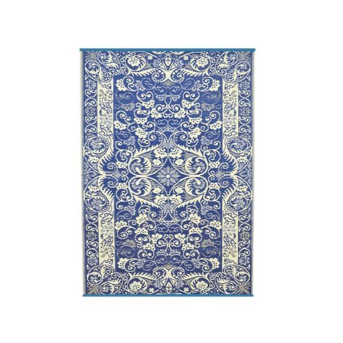 Wonder Rugs Buitentapijt blauw