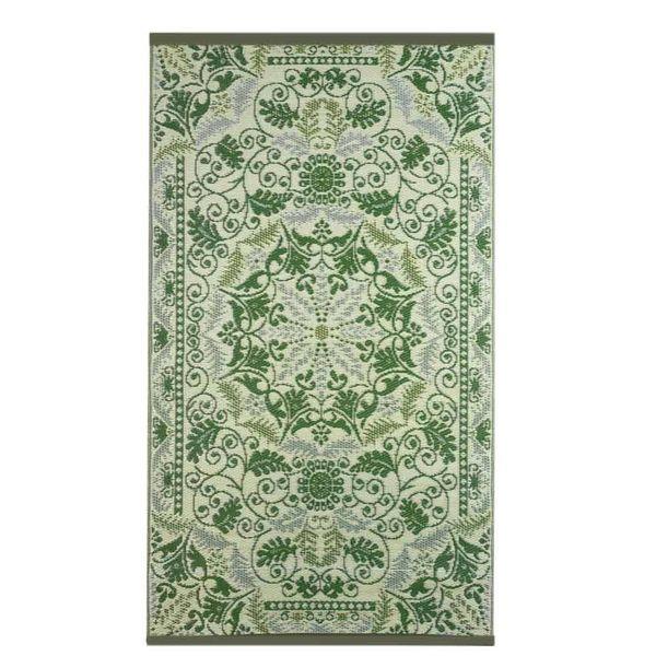 Wonder Rugs Perzisch buitentapijt goud groen