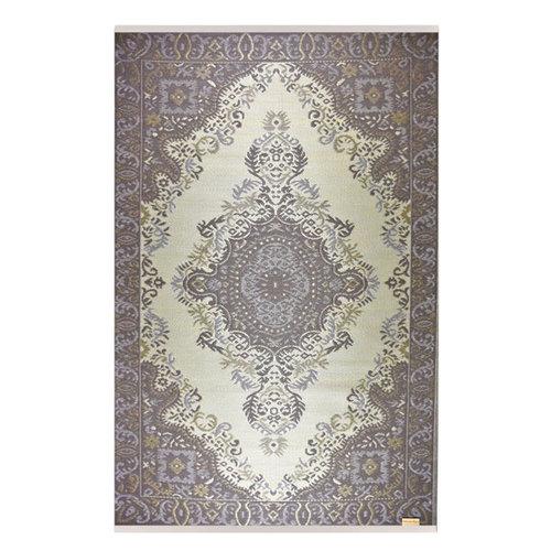 Wonder Rugs Buitenkleed bruin perzisch patroon