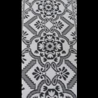 Wonder Rugs Groot zwart wit campingkleed