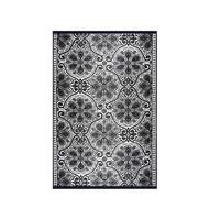 Wonder Rugs Buitenkleed zwart wit grijs oosters