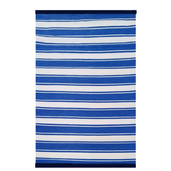 Wonder Rugs Stoer buitenkleed blauw