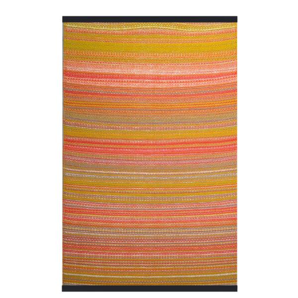 Wonder Rugs Buitenkleed multi oranje