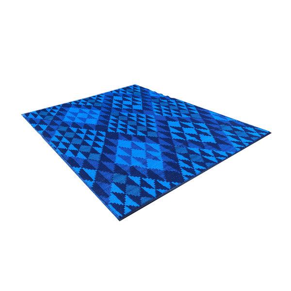 Wonder Rugs Groot blauw buitenkleed