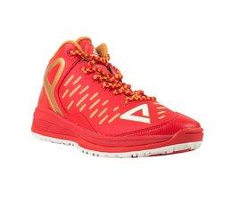 PEAK Sport Basketballschoenen TP9 Red/Gold  (Kindermaten)