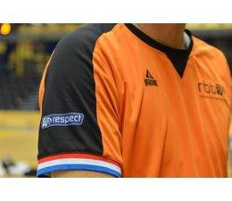 PEAK Sport NBB Landelijk  Scheidsrechter Shirt - Oranje