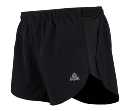 PEAK Woman Elastische hardloop Short - Black