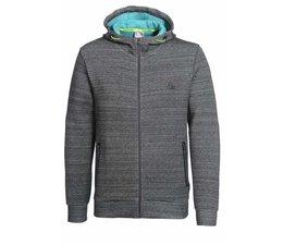 PEAK Sport Full Zip Hooded Sweater, model Scuba - Donkergrijs