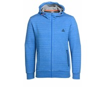 PEAK Sport Full Zip Hooded Sweater - Licht Blauw