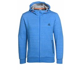 PEAK Sport Full Zip Hooded Sweater, model Scuba - Licht Blauw