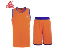 PEAK Sport Basketball Tenue Oranje/Blauw
