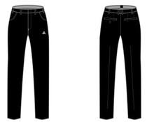 PEAK Sport Scheidsrechter Broek - Zwart - 1.0