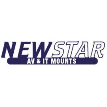 Newstar FPMA-D700DD Black Dubbele Monitor Beugel