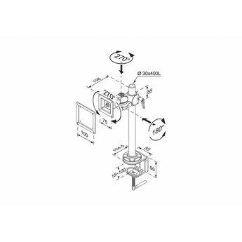 Newstar FPMA-D910 Monitorbeugel
