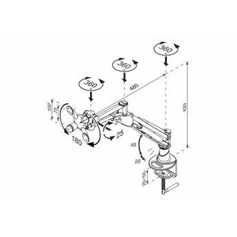 Newstar FPMA-D940G Monitorbeugel