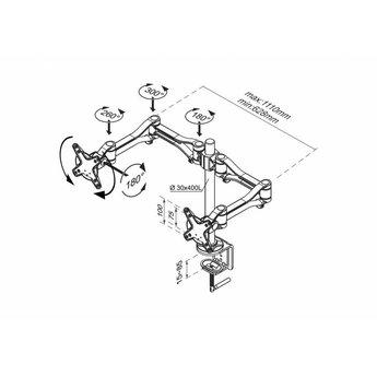 Newstar FPMA-D1030D Monitorbeugel