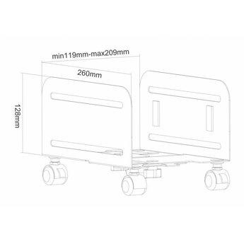 Newstar CPU-M100BLACK CPU Houder