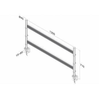Newstar FPMA-DTB200 Toolbar