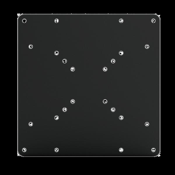 DQ Wall-Support Hera Adapterplaat/Verloopplaat Black